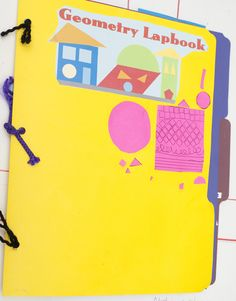 Free printables or pictures to make a Geometry Lapbook