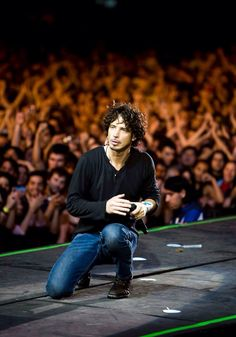 You rocked in Chicago too!  Love U Mr. Cornell