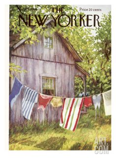 The New Yorker Cover - July 28, 1956 Regular Giclee Print by Edna Eicke at Art.com