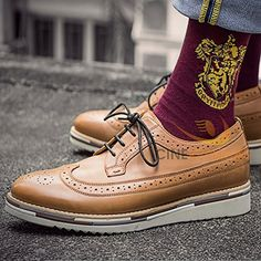 These Harry Potter socks would be the perfect Valentine's Day for boyfriends who are Gryffindors at heart.
