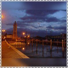 #Rimini #photo #photooftheday #PhotoGrid #foto #porto #portodirimini #EmiliaRomagna #Romagna #myrimini #vivorimini #notte #sky #blu #instafoto #instapic #picoftheday #faro #luci #igersromagna #igersrimini  by jenny18d