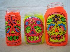 dia de los muertos craft idea