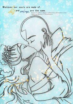 The First Kiss by selinmarsou.deviantart.com on @deviantART