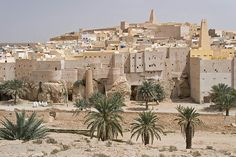 Ghardaia city in the heart of Algeria (Southern side of the country)