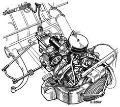 Citroen 2 CV cutaway images