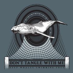 Don't Tangle With Me - Ladies Long Sleeve Scoop Neck - Navy
