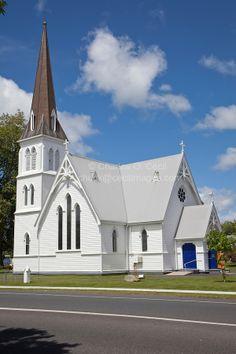 Cambridge, New Zealand | Cambridge, New Zealand. St. Andrews Anglican Church.