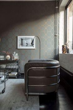Cet appartement présente un design original et un plan malin - PLANETE DECO a homes world Layout, Decoration Design, Plans, Showroom, Interior Design, The Originals, Originals, Nest Design, Page Layout