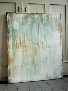 Christian Hetzel  pale turquoise 2016 - 120 x 100 cm - Mischtechnik auf Leinwand