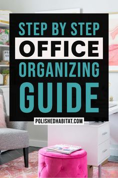 ✔ Office Organization At Work Productivity Cool Office Supplies, Office Organization At Work, Clutter Organization, Home Office Organization, Office Ideas, Office Decor, Declutter Your Home, Organizing Your Home, Organizing Ideas