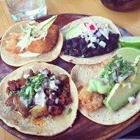 Assorted tacos at de cero in the West Loop, Chicago