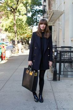 Winter Street Style From New York City | StyleCaster