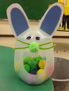 Milk jug bunny - brings back memories!!