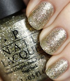 OPI Spark de Triomphe - yes, the sparkles are THAT dense!
