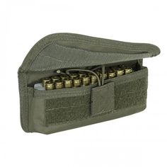 Voodoo Tactical 20 Round Shooter's Pouch with Universal Straps on Back OD Green Voodoo Tactical, Tactical Bag, Molle Gear, Edc Bag, Molle Pouches, Shooting Gear, Utility Pouch, Tactical Equipment, Army & Navy