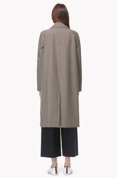 Minimal trench coat