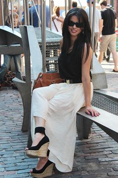 The Avenue Vee: High-Low Skirt