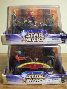 NIB Star Wars Attack of the Clones Genosian War room complete set 1 and 2 #Hasbro