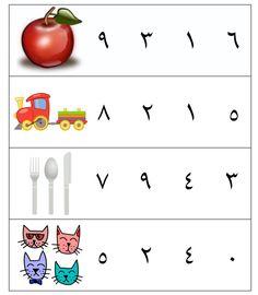 Tarbiyah Homeschool's Arabic Number Cards