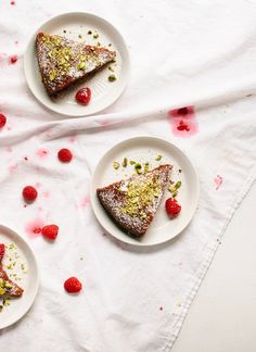 Gluten-Free Honey Almond Cake - Cookie and Kate Raw Pistachios, Honey Almonds, Dairy Free, Gluten Free, Grain Free, Raspberry Cake, Honey Cake, Happy Kitchen, Ginger And Honey