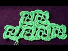 Безотрывное вязание крючком. Танцующие квадратики - YouTube
