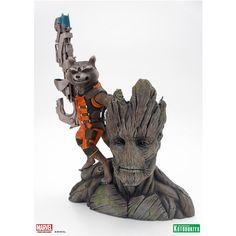 JMD Retail - Kotobukiya ArtFX+ Guardians of the Galaxy Rocket Raccoon