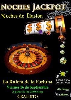 "Noches Jack Por ""La Ruleta de la Fortuna"""