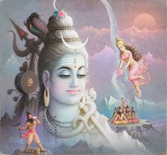 Shiva Hindu, Shiva Art, Hindu Deities, Krishna Art, Hindu Art, Lord Shiva Hd Wallpaper, Lord Vishnu Wallpapers, Rishikesh, Shiva Meditation