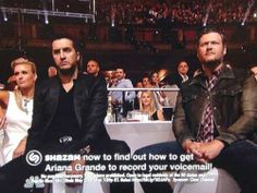 Blake Shelton and Luke Bryan's face during Ariana Grande's performance was PRICELESS!