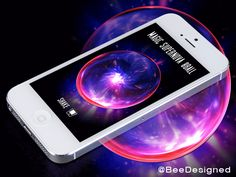 Magic Supernova 8ball Dribbble by Amar Chauhan