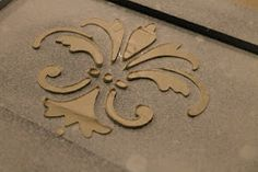 How to for Raised stencil