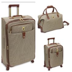 London Fog Luggage Manchester Lites 20 Inch Expandable