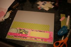 Scrapbook starting point for Sept 3, 2011
