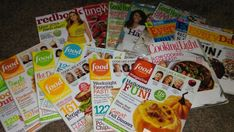 (16) Cooking Magazine Back Issues Lot Everyday Rachel Ray Food Network Redbook