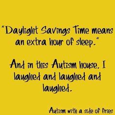 Daylight savings and autism
