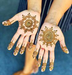 Mandala designs for Namrata ❤️ New Bridal Mehndi Designs, Bridal Henna, Henna Mehndi, Mehendi, Craft Eyes, Mehndi Design Images, Beautiful Henna Designs, Henna Tattoo Designs, Mandala Design