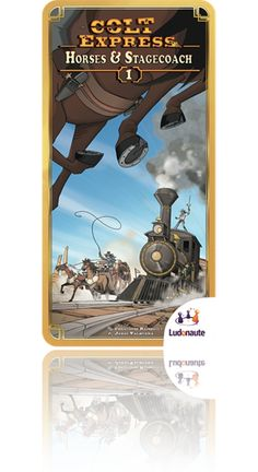 Show details for Colt Express: Horses & Stagecoach [Expansion]