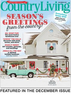 Country Living Decem