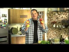 Almás zellerkrémleves - Receptek | Ízes Élet - Gasztronómia a mindennapokra Jamie Oliver, Button Down Shirt, Men Casual, Mens Tops, Shirts, Food, Fashion, Moda, Dress Shirt