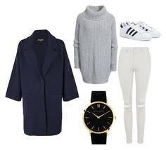 Comfy Styling by rhonaaxo on Polyvore featuring Tommy Hilfiger, Hunkydory, Topshop, adidas and Larsson & Jennings