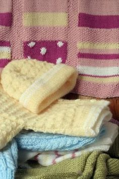 knitted  Free Patterns for Baby items