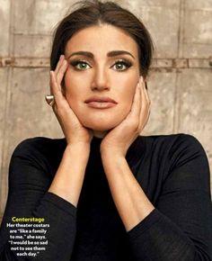 Photo Flash: Idina Menzel Channels Maria Callas in PEOPLE Magazine