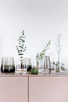 You don't need an expensive trip to the florist to make an eye-catching display. Nord Copenhagen
