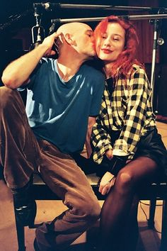 Ahh Michael Stipe REM and Tori or is that Maynard from Tool Sound Of Music, Music Love, World Most Beautiful Woman, Beautiful People, Maynard James Keenan, Losing My Religion, Tori Amos, Celebrity Skin, Punk