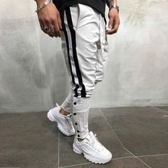 X-Future Men Floral Printed Cotton Linen Hollow Out Hip Hop Loose Fit Chinese Style Casual Pants