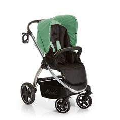 hauck Priya Trio Set Pistachio - As your child gets older, he or she can explore the world in the comfortable sports buggy! Choose your child's view with the easily convertible, extra-light sport seat that offers enough space even for older children. Apply the handbrake when your little explorer gets tired. With just one hand, you can move the backrest into a lying position and the footrest is multi-adjustable. Your child can enjoy all-round protection under the cosy leg cover.