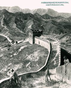 Great Wall by AmBr0.deviantart.com on @deviantART http://ambr0.deviantart.com/art/Great-Wall-402391704
