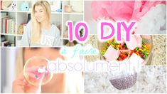 ▲ ▲ ♡ All the information on this video is here ♡ ▲ ▲ 10 Easy and quick DIY for decorating your room or making a gift, how does that sound? Easy Pranks, Good Pranks, Cool Diy Projects, Craft Projects, Projects To Try, Deco Pastel, Mermaid School, Room Deco, Pot A Crayon