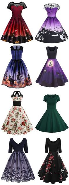 50 Best Vintage Dresses to inspire yourself.Looking for a evening gown that'll work on all holiday parties this winter.Free Shipping Worldwide!