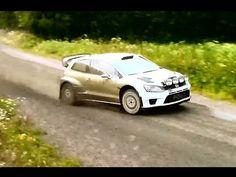 Jari-Matti Latvala Rally Finland 2015 WRC TEST - YouTube
